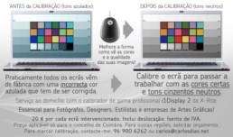 Calibração de monitores/ecrãs