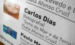 Exposição Sons do Mar e da Terra, CAE, Figueira da Foz, 2005