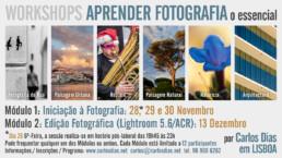 Workshop de Iniciação à Fotografia e de Edição Fotográfica com o Lightroom ou o Adobe Camera Raw, 2014