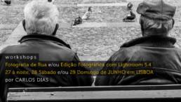 Workshop de Fotografia de Rua e de Edição com o Lightroom 5.4, 2014