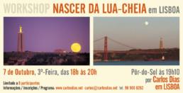 Workshop Fotografar o nascer da Lua-Cheia, 2014