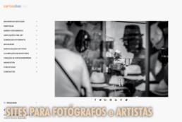 Sites para Fotógrafos e Artistas © Carlos Dias