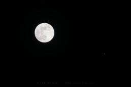 Conjunção da Lua e Júpiter, #9589 | © Carlos Dias 2017