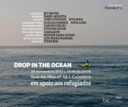 Drop in the Ocean | apoio a refugiados | 25 Novembro | Coimbra | MÚSICA