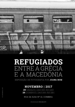 Drop in the Ocean | apoio a refugiados | 25 Novembro | Coimbra | FOTOGRAFIA