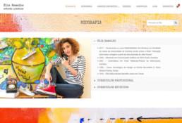 Élia Ramalho | Artista Plástica | #PalavraPintada