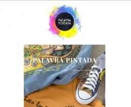PalavraPintada | Élia Ramalho | Artista Plástica