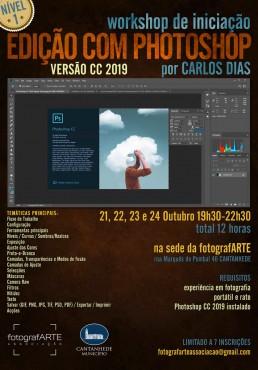 workshop de iniciação Edição com Photoshop nível 1 2019